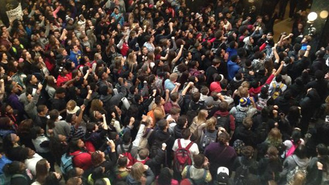 Protesters fill Wisconsin Capitol for rally on officer-involved shooting
