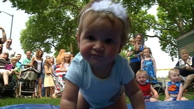 Baby Races at Riverside Park