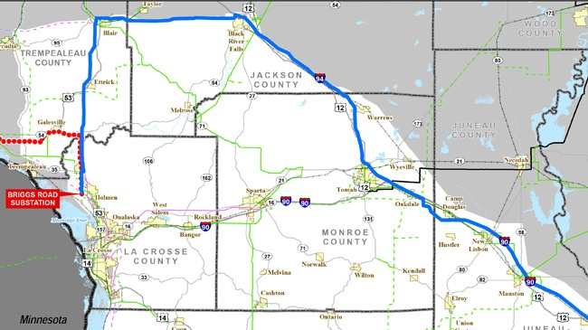 Town of Holland appeals Badger Coulee Transmission Line decision