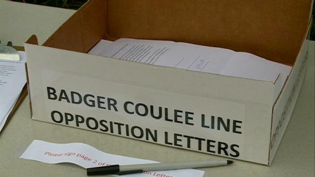 Badger Coulee Line, Public Hearing in Holmen on Tuesday