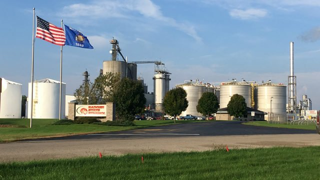 Crews respond to explosion at ethanol plant