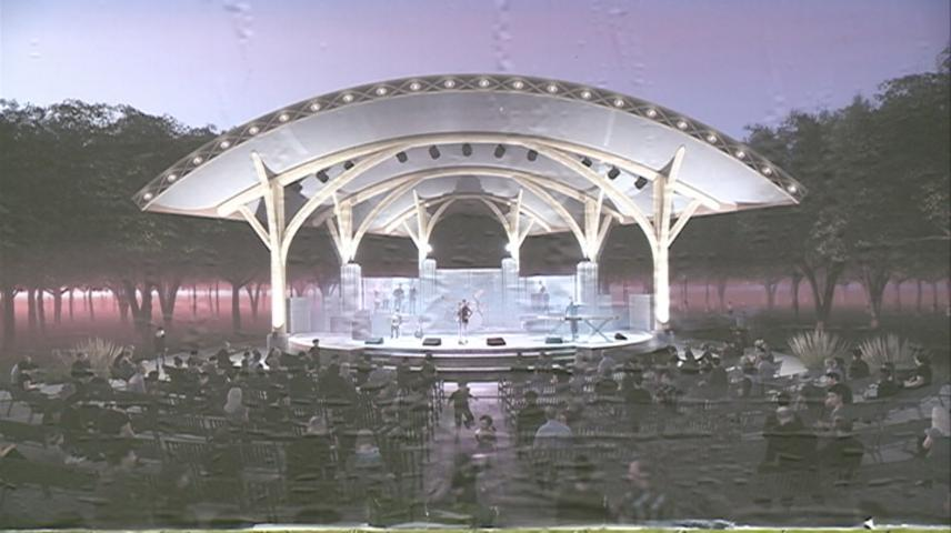Construction on bandshell in Riverside Park scheduled to start this summer