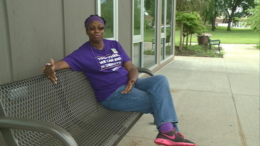 Woman living with dementia-related disease finds support in unlikely place