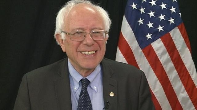 Sanders rallying with Baldwin, Bryce in Wisconsin