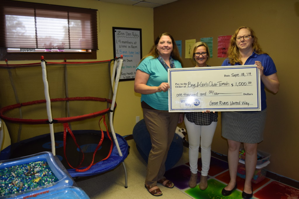 Tomah Boys & Girls Club awarded Great Rivers United Way Venture Grant