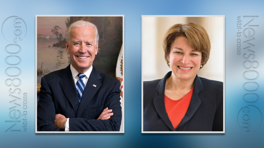 Biden, Klobuchar plan visits to Allamakee, Winneshiek counties