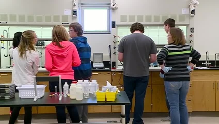 'Big Bang Friday' gives high school students a taste of college