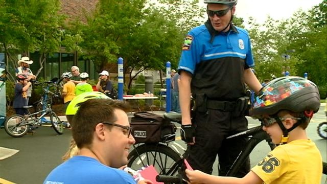 Bike safety takes center stage outside Mayo Clinic Health System