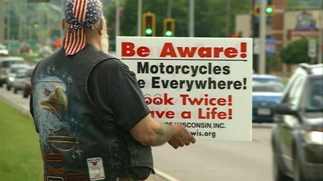 Motorcyclists ask drivers to look twice
