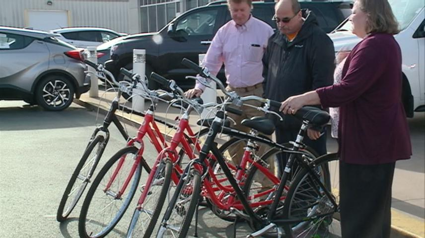 Coulee Council on Addictions receives bikes from Toyota of La Crosse