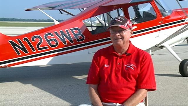 Local performer pilot lands for the last time
