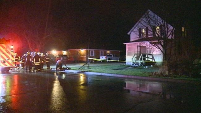 House fire leaves adult, three children in critical condition