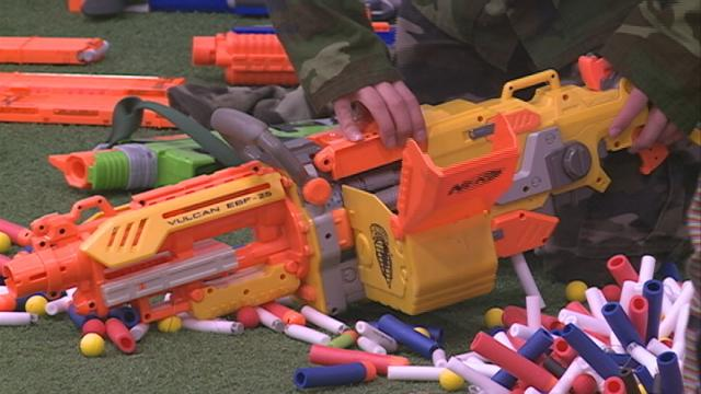 Nerf Blaster Battles sets sights on stopping bullying