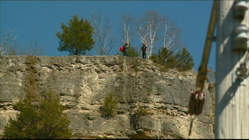 Bluff rescue not needed following call to La Crosse Fire Department