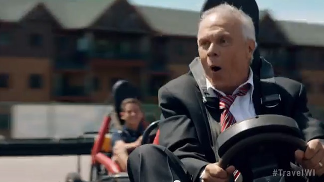 Badgers Bo Ryan featured in Wis. travel ad