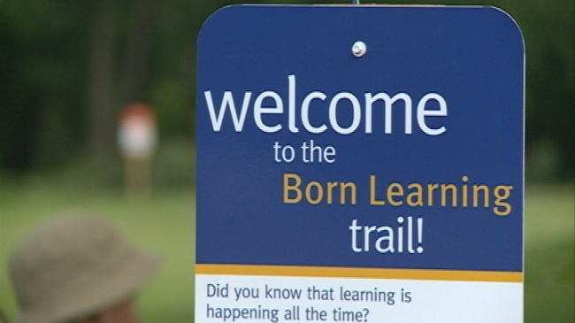 'Born Learning' Trail opens at Red Cloud Park