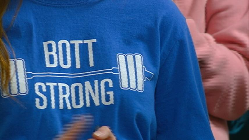"Central High School hosts ""Bott Strong Lift-A-Thon"" to raise money for coach's cancer treatment"