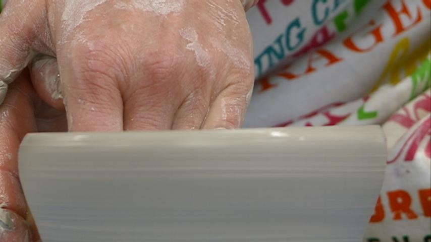 Potters craft bowls to raise money for Hunger Task Force