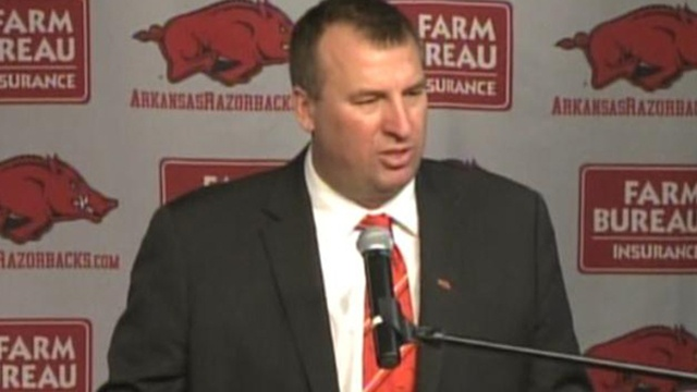 Arkansas AD 'troubled' by comments about Bielema