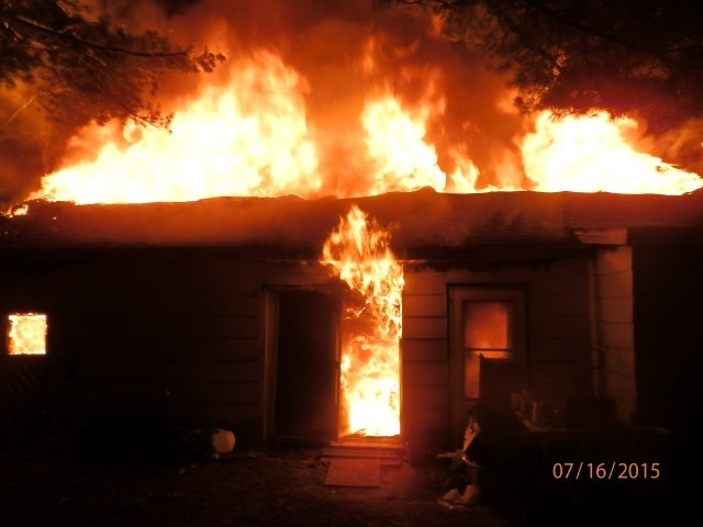 Two persons of interest in custody for arson at Jackson Co. home