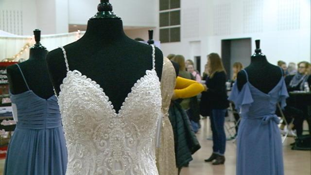 Organizers say bridal expo is biggest yet