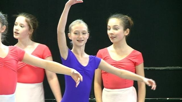 Dance studio helps young ballerinas train as professionals