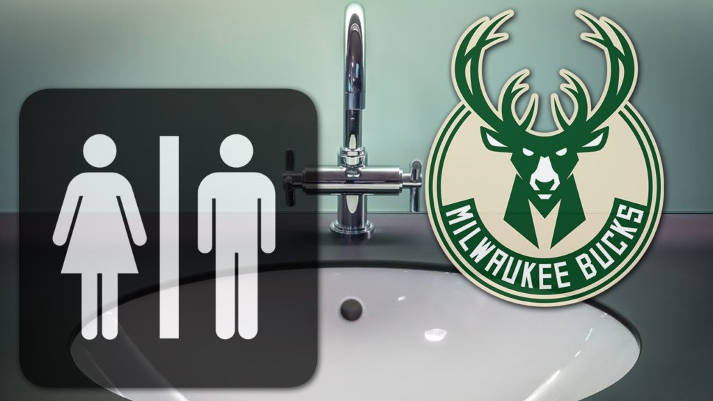 New Bucks arena has gender-neutral restrooms