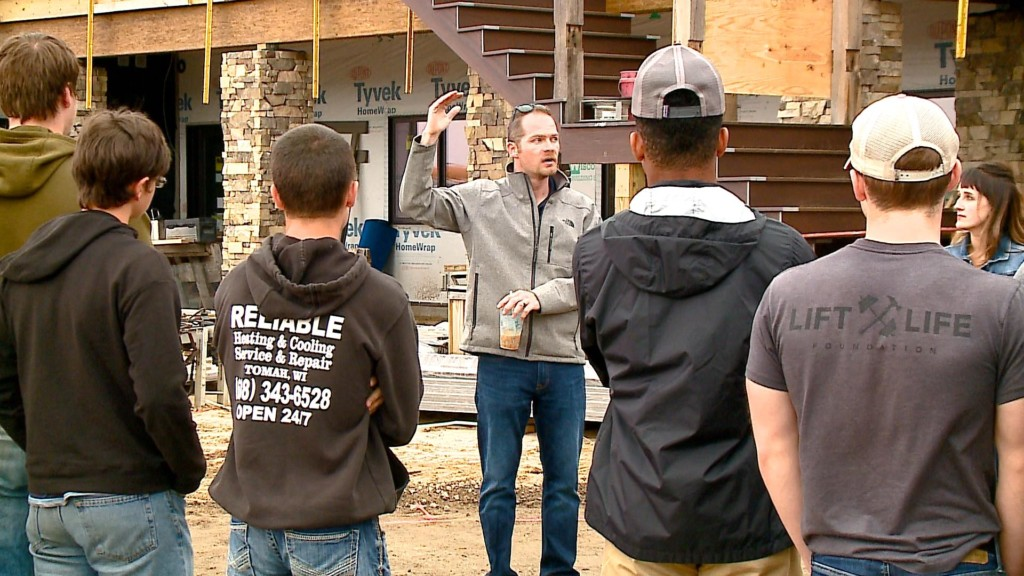 'Building Careers Day' shows students the range of career options in home construction