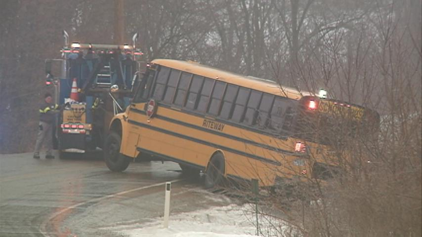 Slippery roads cause disruptions for La Crosse School District buses