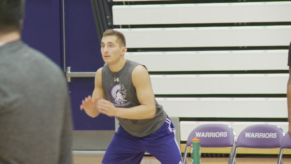 Caleb Wagner on joining 1,000 point club: 'It's an honor'