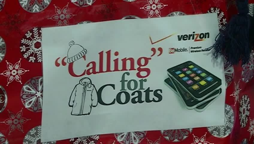 'Calling for Coats' provides truckloads of winter gear