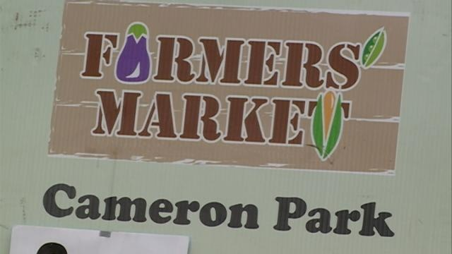 First Saturday for Cameron Farmers' Market