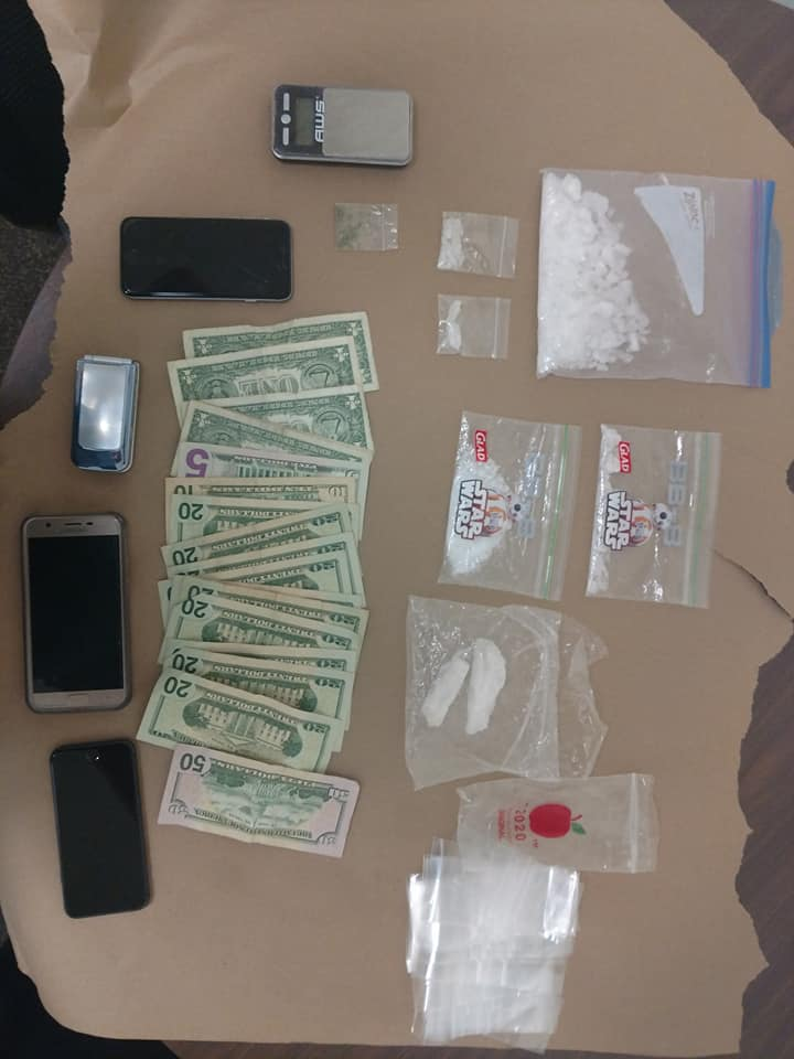 Tip into drug sales at apartment leads to two arrests
