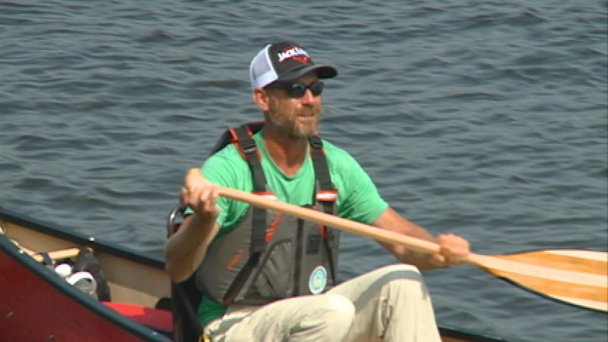 Canoeing the Mississippi for charity