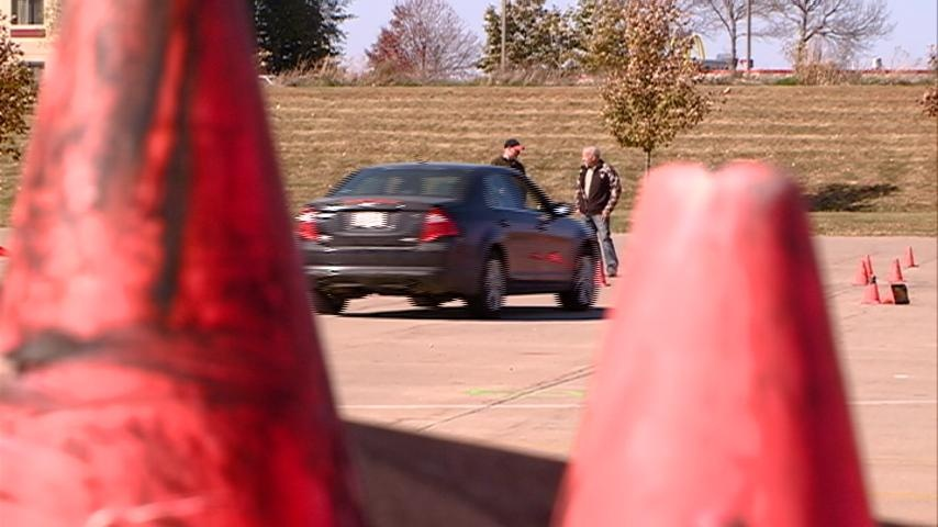Class gives teens a chance to practice real-life driving situations