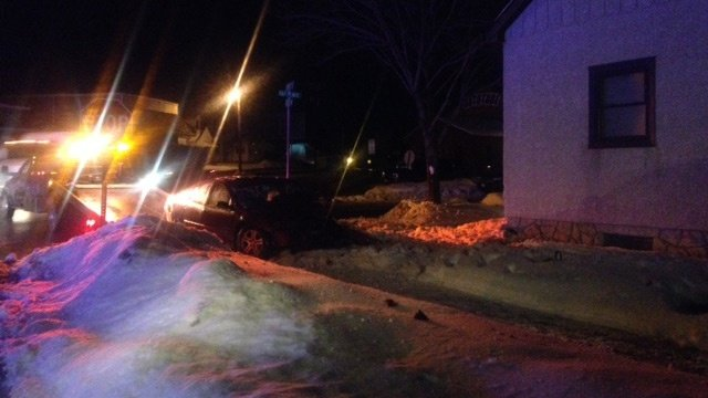 Car hits house on La Crosse's south side