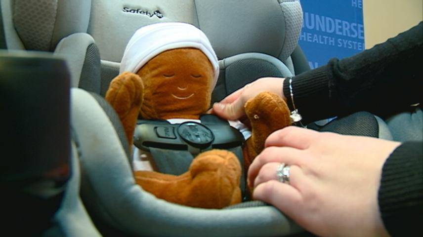 Get your child car seats checked for free in La Crosse