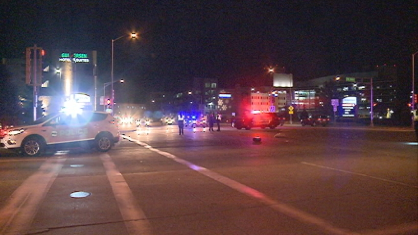 One person suffers life-threatening injuries in car vs. pedestrian crash