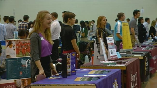 Thousands of high school students attend Career Expo