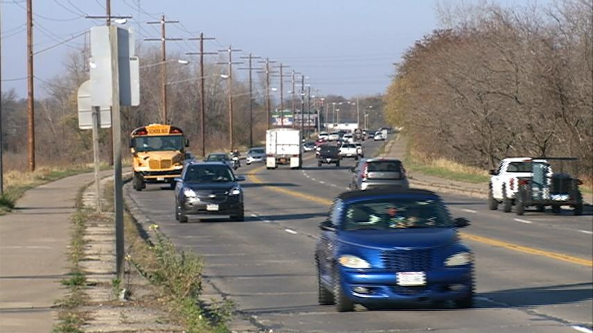 Expect lots of traffic Thanksgiving weekend