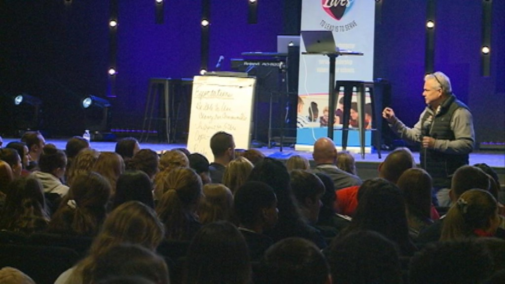 Local organization teaches hundreds of students about good character