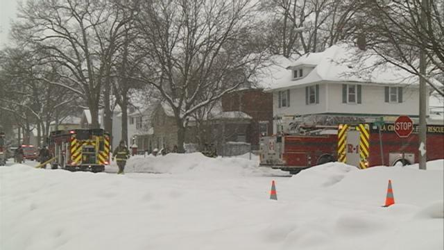 Firefighters respond to attic fire on La Crosse's north side