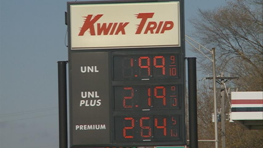Gas under $1.99 helps area businesses