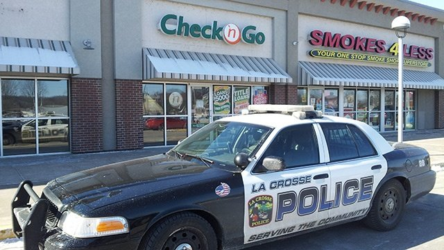 Armed robbery reported at La Crosse Check 'N Go