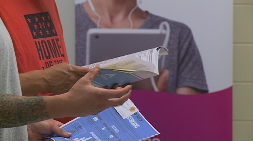 Job fair provides opportunity for those with child support obligations