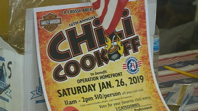 Local chili chefs put their skills to the test to help military families in our area