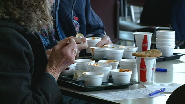 A Winona County charity chili cook-off helps families afford school supplies