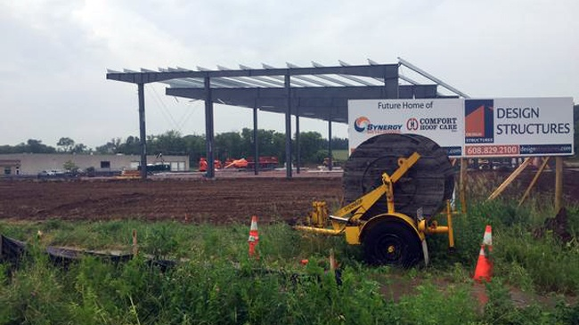 Toddler found alone at Baraboo construction site
