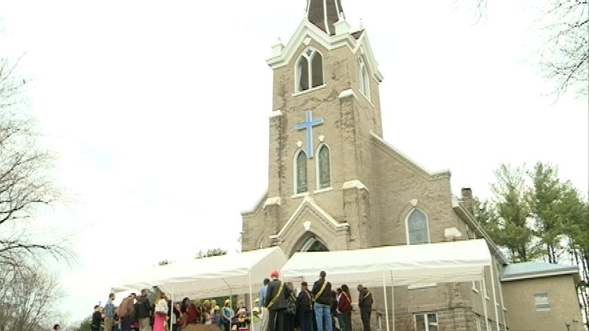 Halfway Creek Lutheran Chuch breaks ground on new project