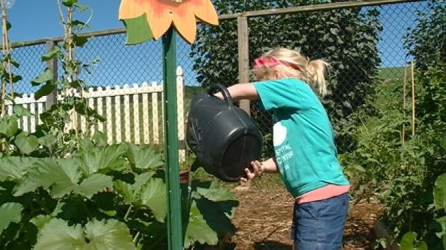 Youth gardening program getting kids excited about working outdoors